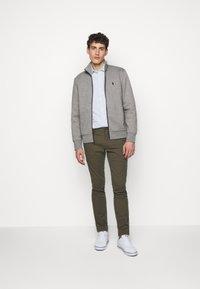 Polo Ralph Lauren - veste en sweat zippée - battalion grey - 1
