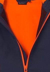 CMP - GIRL FIX HOOD - Softshellová bunda - blue/orange - 4