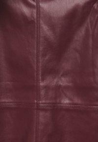 Esqualo - SKIRT PENCIL - Pencil skirt - plum - 2