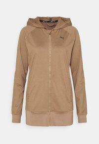 Puma - STUDIO JACKET - Zip-up hoodie - amphora heather - 0