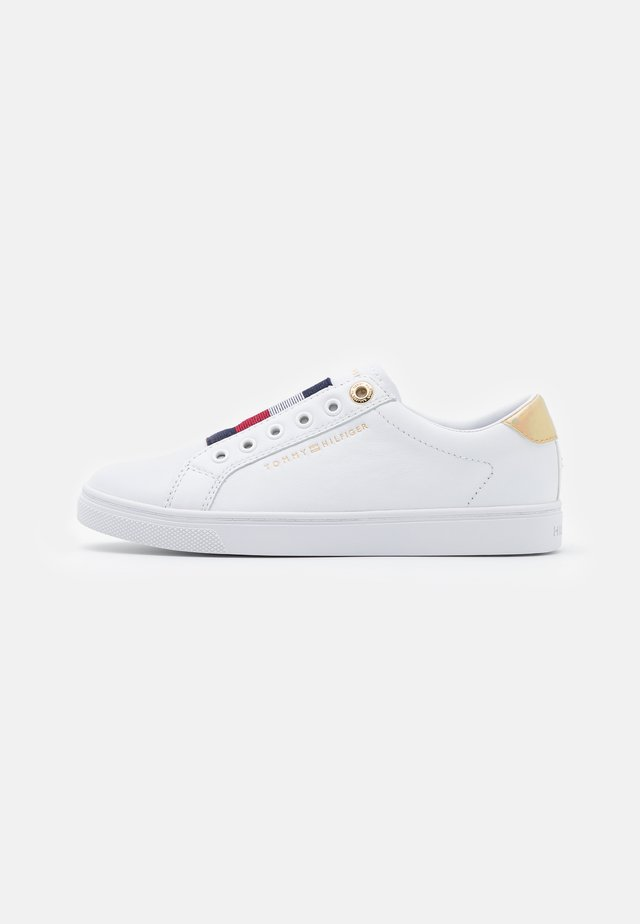 ELASTIC - Trainers - white