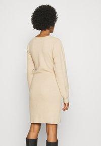 NA-KD - STEPHANIE DURANT X NA-KD - Jumper dress - beige - 2