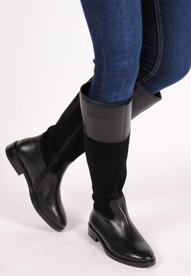 CHARLOTTE  - Overknee laarzen - black