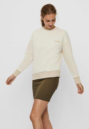 RUNDHALSAUSSCHNITT - Sweatshirt - birch