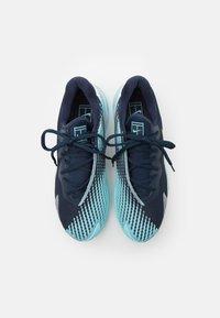 Nike Performance - AIR ZOOM VAPOR CAGE 4 - Multicourt tennis shoes - obsidian/metallic gold/copa/white - 3