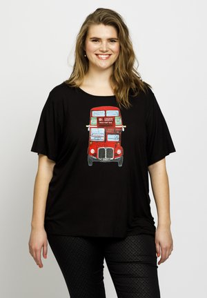 LONDON - T-shirt print - black