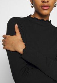 Monki - Top sdlouhým rukávem - black - 6