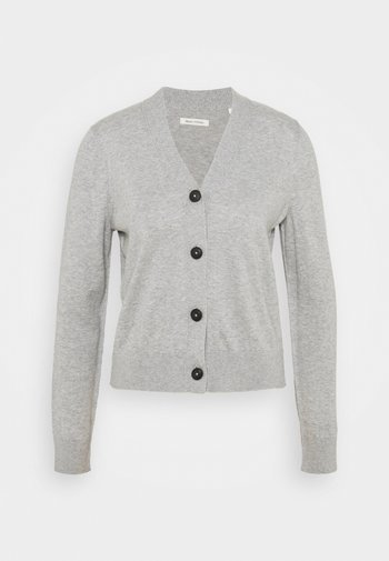 CARDIGAN LONG SLEEVE V-NECK BUTTON