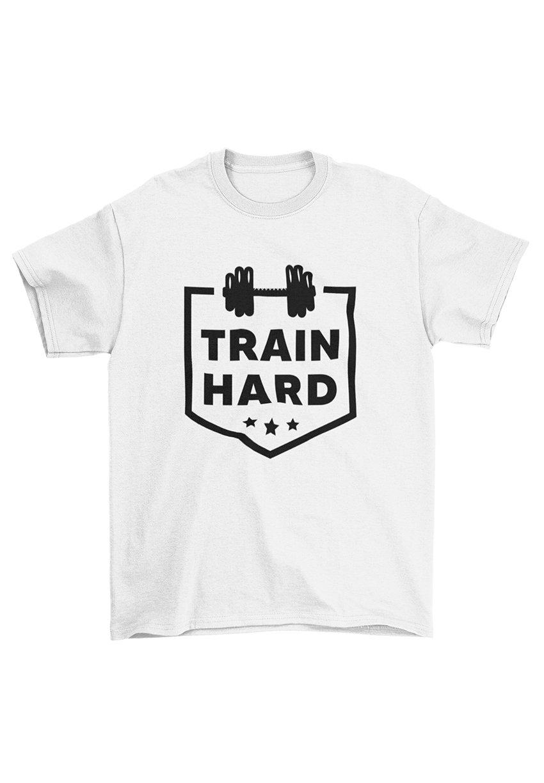 Herren TRAIN HARD - T-Shirt print