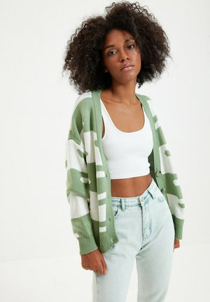TRENDYOL - Cardigan - green