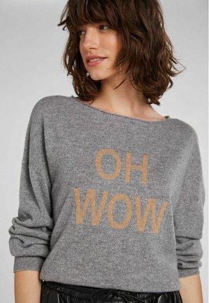 Sweatshirt - light grey camel