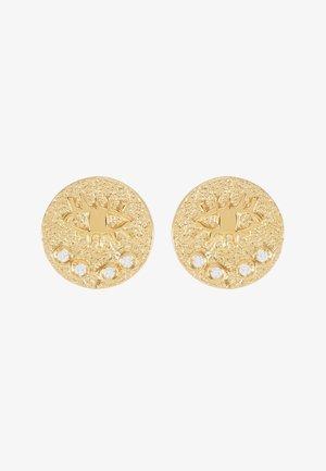 KRESSIDA SMALL PIN EARRINGS - Orecchini - gold-coloured