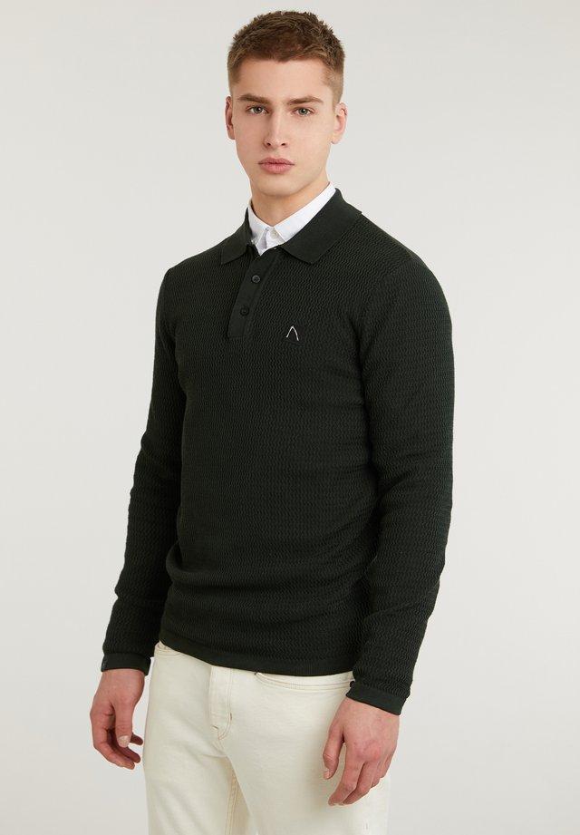 DREW - Poloshirt - dark green