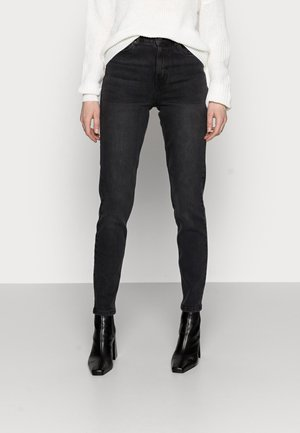 VMJOANA MOM  - Džíny Relaxed Fit - black