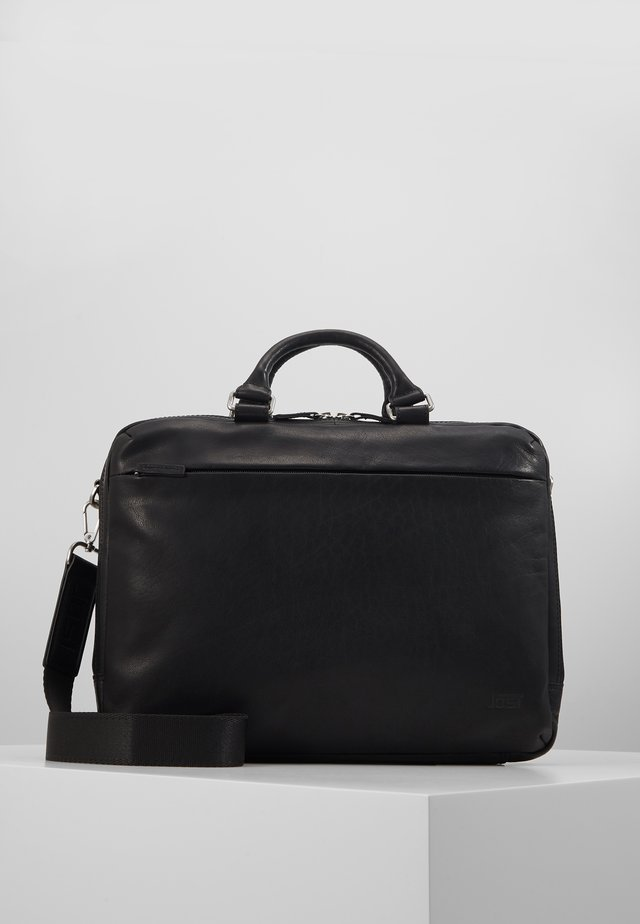 MALMÖ BUSINESS BAG - Ventiquattrore - black