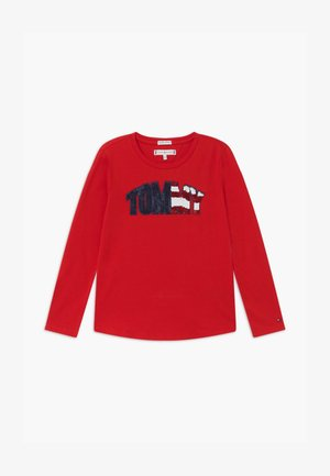 TEE - Long sleeved top - red
