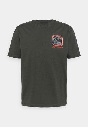 HUGO UNISEX - Print T-shirt - raven
