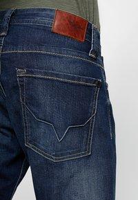 Pepe Jeans - KINGSTON ZIP - Straight leg jeans - blue - 3
