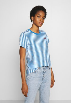 PERFECT TEE - T-shirt med print - raita marina
