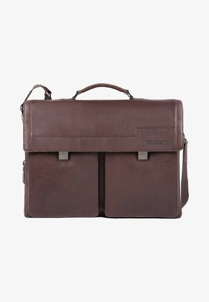 WOSTOK  - Briefcase - darkbrown