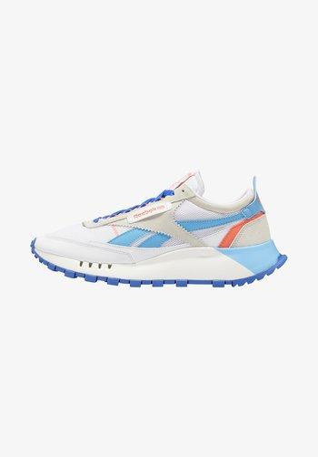 LEGACY UNISEX - Sneakers - white/blue/beige