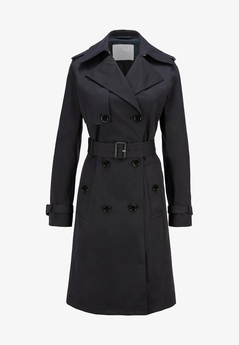 BOSS - CONRY - Trenchcoat - open blue