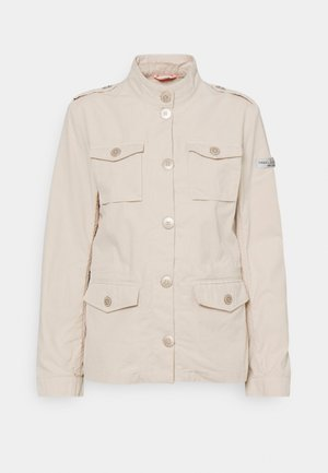 JACKET - Summer jacket - cream