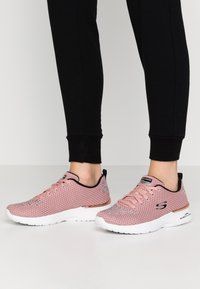 Skechers Sport - SKECH-AIR DYNAMIGHT - Trainers - rose gray/white - 0