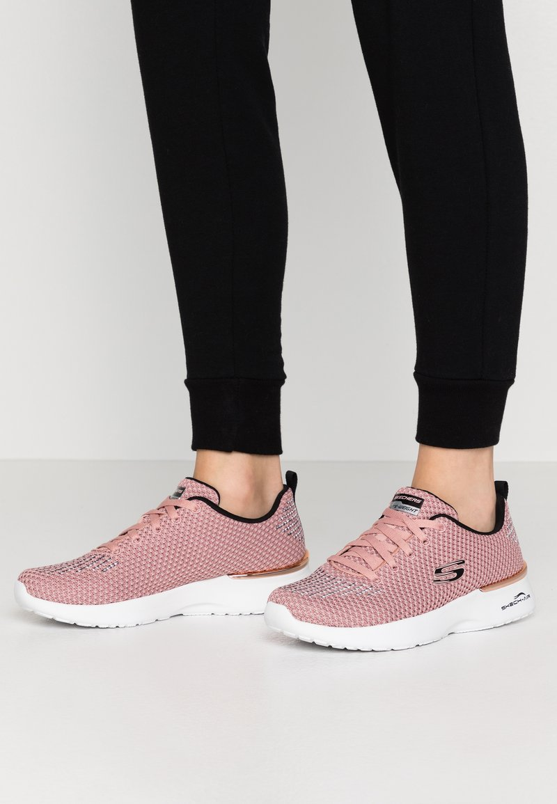 Skechers Sport - SKECH-AIR DYNAMIGHT - Trainers - rose gray/white