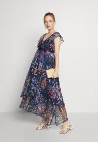 MAMALICIOUS - MLJASMINE DRESS - Denní šaty - medieval blue - 1