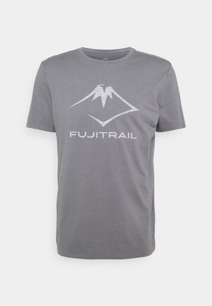 FUJI TRAIL TEA - T-shirt con stampa - graphite grey