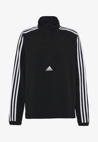 adidas Performance - WVN 3S 1/2 ZIP - Chaqueta de entrenamiento - black/white - 5