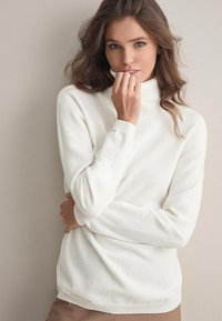 Falconeri - MIT LANGARM - Jumper - white - 0