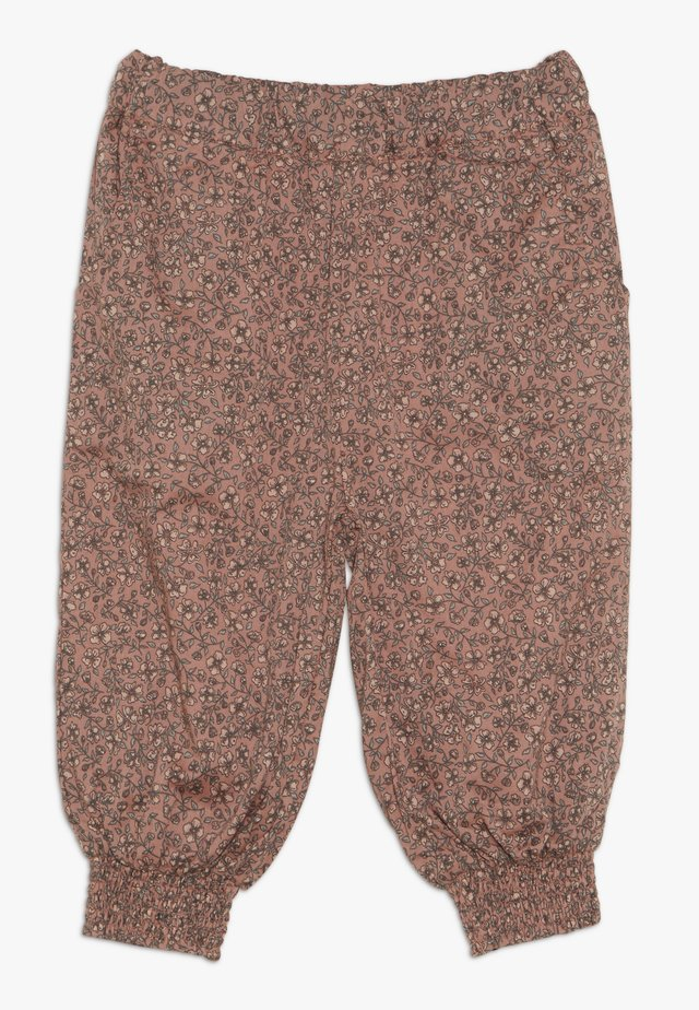TROUSERS SARA BABY - Trousers - soft rouge
