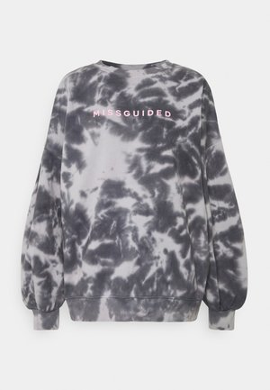 BRANDED TIE DYE - Sweatshirt - grey