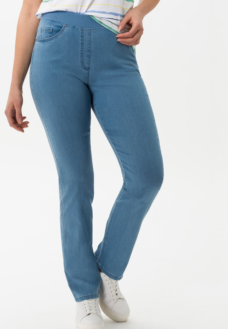 BRAX - STYLE PAMINA - Jeggings - bleached