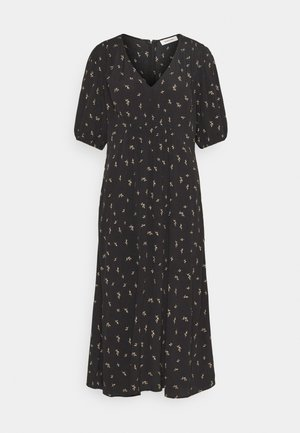 IDALINA PRINT DRESS - Day dress - black