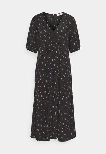 IDALINA PRINT DRESS - Day dress - black