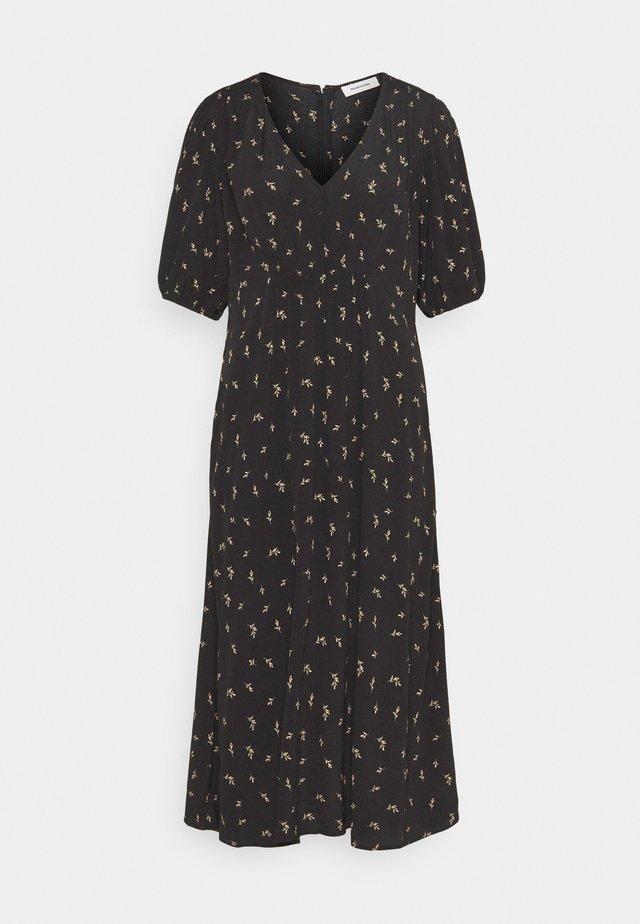 IDALINA PRINT DRESS - Korte jurk - black