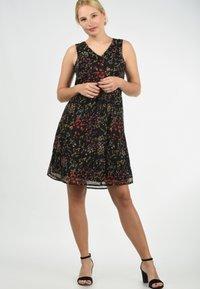 Blendshe - CHARLY - Day dress - black print - 1