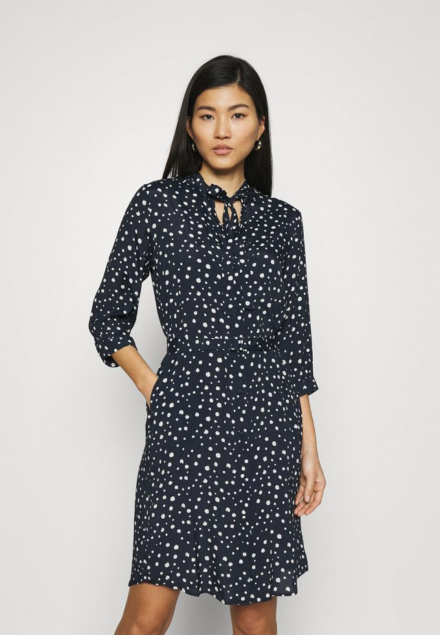 MIDI - Shirt dress - navy