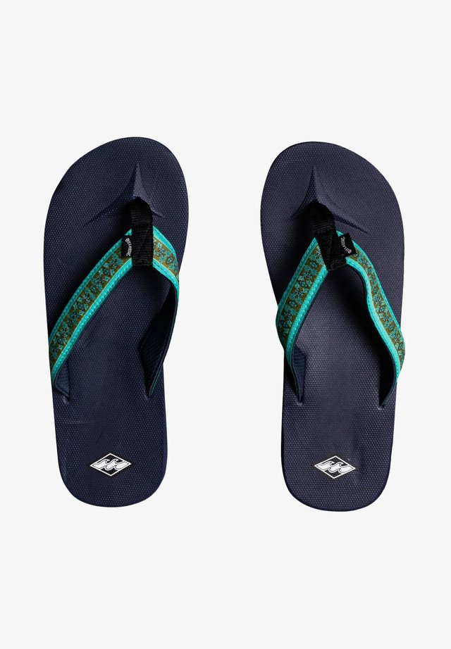 ALL DAY IMPACT - T-bar sandals - navy