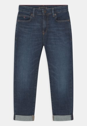 MODERN STRAIGHT - Straight leg jeans - blue denim