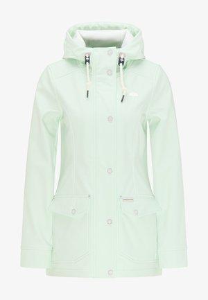 SCHMUDDELWEDDA SOFTSHELLJACKE - Summer jacket - pastellminze