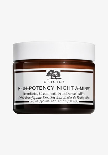 HIGHPOTENCY NIGHT-A-MINS RESURFACING CREAM WITH FRUIT DERIVED AHAs 50ML