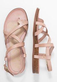 Fred de la Bretoniere - T-bar sandals - rose - 3