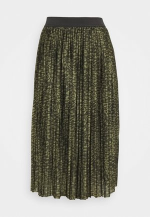 JDYBOA SKIRT - Pleated skirt - forest night