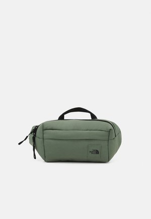 CITY VOYAGER LUMBAR PACK UNISEX - Bum bag - agave green/black