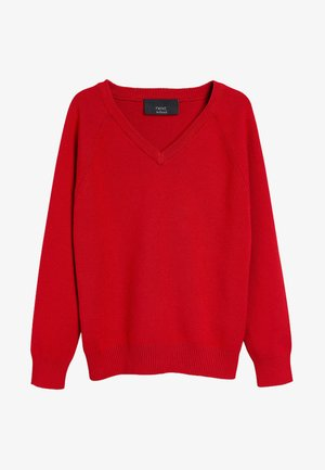 Pullover - red