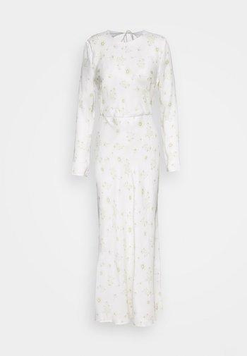 WILD FLOWERS BIAS - Maxi dress - white